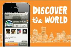 Gowalla.  This resembles the popular social location bookmarking site, FourSquare, but this free app was made specifically with the traveler in mid.  It allows people to check in and reveiw places; it also allows users to build up virtual passports, follow pre-planned trips, share photos with friends, and earn rewards.