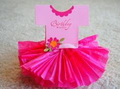 How To Make Tutu Skirt | Tutu Dress Birthday Card