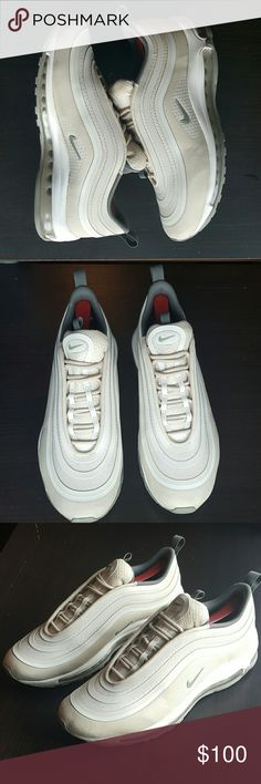 c3fa3be19ebf Men s Nike Air Max 97 Ultra Men s Nike Air Max 97 Ultra size 9 excellent  condition the color is bone with olive green no box Nike Shoes Athletic  Shoes