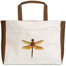 Dragonfly Beach Tote for