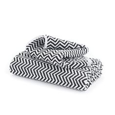 Herringbone Black/White Towels – Cool Galah