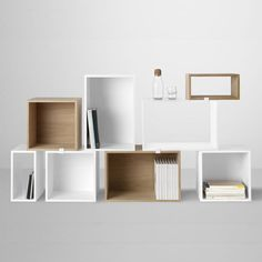 Stacked shelf de Muuto