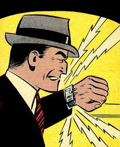 DIck Tracy communicator watch with Facetime™
