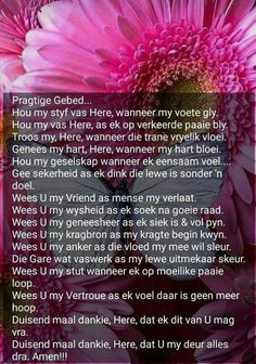 Here,hou my styf vas. Pray Quotes, Mom Quotes, Bible Quotes, Qoutes, Afrikaanse Quotes, Prayer Board, Special Quotes, Faith In God, Positive Quotes
