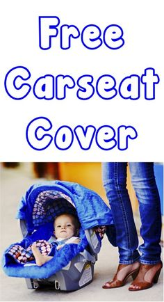 FREE Darling Carseat Cover! {just pay s/h} ~ these make great gifts, too!