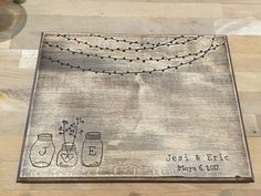 Personalized Wedding Gift, custom cutting board.