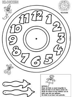Klokken maken - Knutselpagina.nl - knutselen, knutselen en nog eens knutselen.