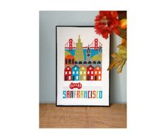 San Francisco Cross Stitch Pattern Instant Download