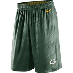 Green Bay Packers Nike Fly Warp Performance Shorts – Green- xl
