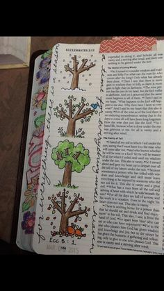 Ecclesiastes 3:1......................... Bible journaling.