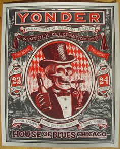 GigPosters.com - Yonder Mountain String Band - Darol Anger - Danny Barnes