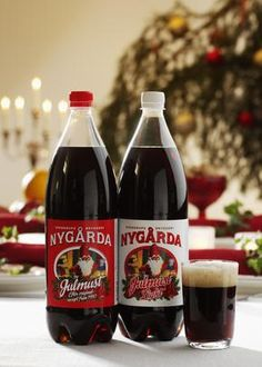 I really want to try this someday!! Julmust - A Swedish Christmas soda.