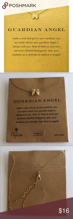 Guardian Angel Wings Necklace New In Package Guardian Angel Wings Necklace Dogeared Jewelry Necklaces