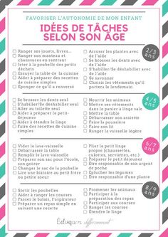Idées de tâches selon l'âge de l'enfant pour favoriser l'autonomi… Task Ideas by Child's Age […] The post Task ideas according to the age of the child to promote autonomy. appeared first on Trending Hair styles. Education Positive, Kids Education, School Psychology, Psychology Notes, Scholarships For College, Positive Attitude, Kids And Parenting, Montessori, Positivity