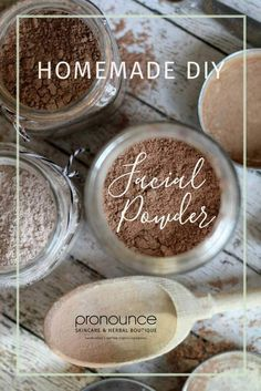 Learn how to create a healthy DIY organic facial powder with only 5 ingredients! This is a perfect compliment to Pronounce's DIY organic face foundation.