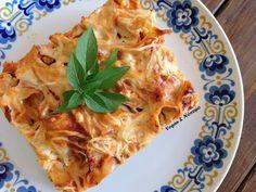 Σουφλέ με Ταλιατέλες   Vegan & Νόστιμο Lasagna, Macaroni And Cheese, Vegan Recipes, Health Fitness, Vegetarian, Pasta, Ethnic Recipes, Food, Life