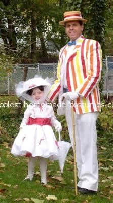 Coolest Toddler Mary Poppins and Bert Costume... This website is the Pinterest of costumes
