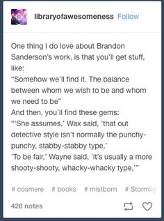 Brandon Sanderson works XD