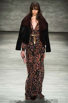 That jacket is perfection!   Rebecca Minkoff - Fall 2015 Ready-to-Wear - Look 18 of 34   via Style.com