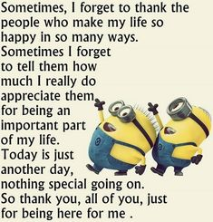 humor Hilarious For all Minions fans this is your lucky day, we have collected some latest fresh insanely hilarious Collection of Minions memes and Funny picturess Life Quotes Love, Cute Quotes, Great Quotes, Inspiring Quotes, Funny Quotes, Quotes Pics, Funny Humor, Funny Thank You Quotes, Hilarious Memes