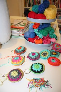 Bees and Appletrees (BLOG): rondjes haken - crochet circles