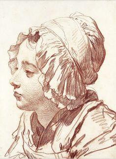 GREUZE Jean-Baptiste - French (1725-1805) -