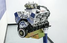 """The SSRE Big Dawg 434 is definitely one combination you don't want to run into on the backstreets of """"Anywhere,"""" USA. Chevy Crate Engines, Forged Pistons, Combustion Chamber, Race Engines, Drag Racing, Chevrolet, Wicked, Engineering, Pumps"""