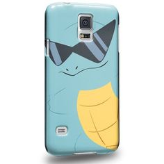 Case88 Premium Designs Pokemon Squirtle Protective Snap-on Hard Back... (£15) ❤ liked on Polyvore featuring accessories, tech accessories and samsung