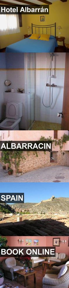 Hotel Albarrán in Albarracin, Spain. For more information, photos, reviews and best prices please follow the link. #Spain #Albarracin #travel #vacation #hotel
