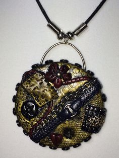 Polymer clay jewelry - Christine's Clay Creations (Facebook)