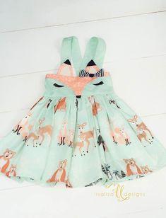 Image of Foxy Fox Suspender Skirt