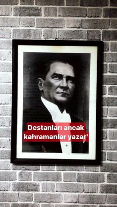 MUSTAFA KEMAL ATATÜRK❤ Fake Photo, Book Quotes, Lightning, Draw, History, Anime, Poster, Pictures, Photography