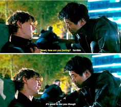 Maze Runner: The Death Cure - Newt and Minho