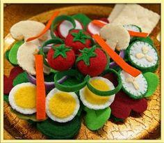 : Tossed vegetable salad by Eva Lauryn