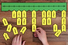 Engage students with a variety of Fraction Number Puzzles that provide practice with equivalent fractions, comparing fractions, and placing fractions on a number line. These are great for math stations or math centers. Comparing Fractions, Teaching Fractions, Math Fractions, Teaching Math, Equivalent Fractions, Dividing Fractions, 3rd Grade Fractions, Fourth Grade Math, Math Resources