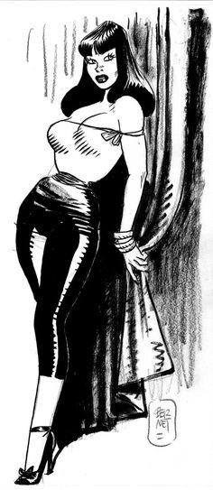 Jordi Bernet sketch