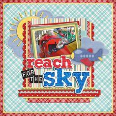 reach for the sky - Scrapbook.com
