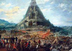La Tour de Babel by Joos de Momper the Younger Museum Of Fine Arts, Art Museum, Turm Von Babylon, Kunsthistorisches Museum, Epic Of Gilgamesh, Tower Of Babel, Wild Bull, Tours, Museums