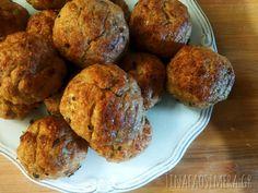 Κεφτεδάκια κοτόπουλου στο φούρνο - Τι να φάω σήμερα Muffin, Breakfast, Ethnic Recipes, Food, Morning Coffee, Eten, Cupcakes, Muffins, Meals