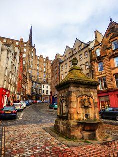 Victoria Street from the Grassmarket, Edinburgh