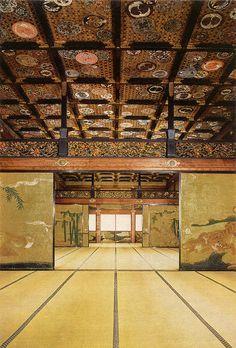Nijo Castle Interior. Kyoto, Japan.
