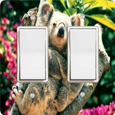 """Rikki KnightTM I Don't Care Double Rocker Light Switch Plate Cover by Rikki Knight. $15.99. 6""""x 6""""x 0.18""""; Glossy Finish; Washable; For use on Walls (screws not included); Masonite Hardboard Material. The I Don't Care single toggle light switch cover is made of commercial vibrant quality masonite Hardboard that is cut into 5"""" Square with 1'8"""" thick material. The Beautiful Art Photo Reproduction is printed directly into the switch plate and not decoupaged which make these Light..."""
