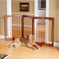 shelton 3panel pet gate - Doggie Gates