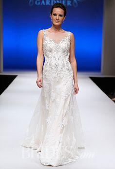 Brides.com: Mori Lee - Fall 2015%0AWedding dress by Mori LeePhoto: George Chinsee
