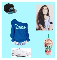 """""""Untitled #25"""" by ibunnypines ❤ liked on Polyvore featuring NIKE and Converse"""