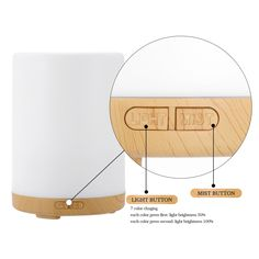Homgeek 200ml Humidifier 7 Colors LED light Ultrasonic Aroma Essential Oil Diffuser Air Humidifier Mist Maker for Home Office-in Humidifiers from Home Appliances on Aliexpress.com | Alibaba Group