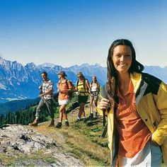 Wanderungen in der #Salzburger Bergwelt mit traumhaften Panoramen und Eindrücken sind immer ein Erlebnis Nordic Walking, Mountains, Nature, Travel, Mountaineering, Biking, Explore, Alps, Hiking