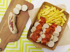 Německý currywurst - bílá klobása s kari kečupem // Ochutnejte svět - blog mezinárodní kuchyně
