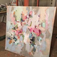 Abstract Canvas, Canvas Art, Pink Abstract, Diy Canvas, Art Photography Portrait, Portrait Art, Acrylic Art, Painting Inspiration, Art Pictures