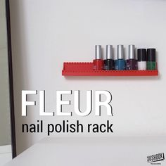 A practical wall mounted nail polish rack Check us out at www.3dshook.com #3dmodel #3dprint #3dmodels #3dprinted #3dprinter #3dprinters #3dprinting #PrintEverything #makers #makersgonnamake #design #tech #technology #nails #nailpolish #beauty #3dshook by 3dshook